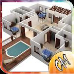 3D Simple House Plan