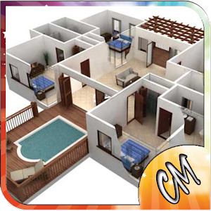 3d simple house plan android apps on google play for House plans with virtual walk through