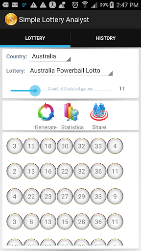 Simple Lottery Analyst