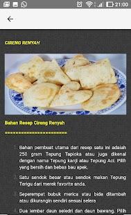 Resep Cemilan Nusantara - náhled