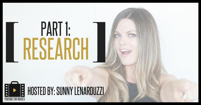 Sunny Lenarduzzi – YouTube for Bosses