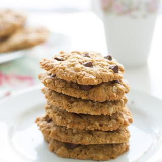 Healthy Peanut Butter Oatmeal Cookies.