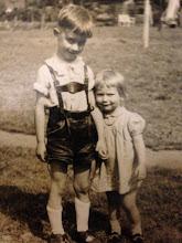 Photo: Gunter und Martina Effenberg - mein Papa und meine Tante