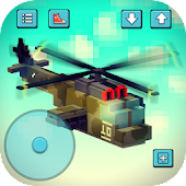 Gunship Craft: Crafting & Helicopter Flying Games