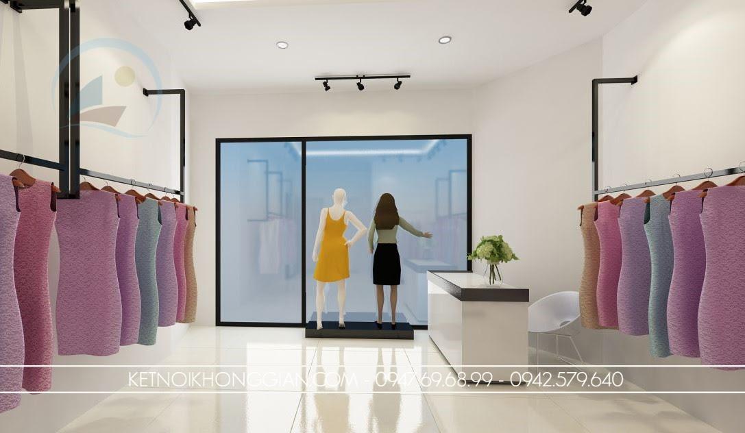 thiết kế cửa hàng thời trang 3
