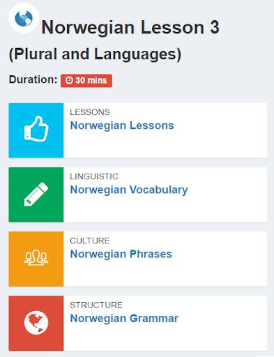 玩免費教育APP|下載Learn Norwegian app不用錢|硬是要APP