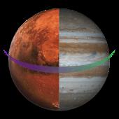 Mars&JupiterLiveWallpaperFree