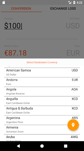 Currency Converter For Travelers Screenshot 4