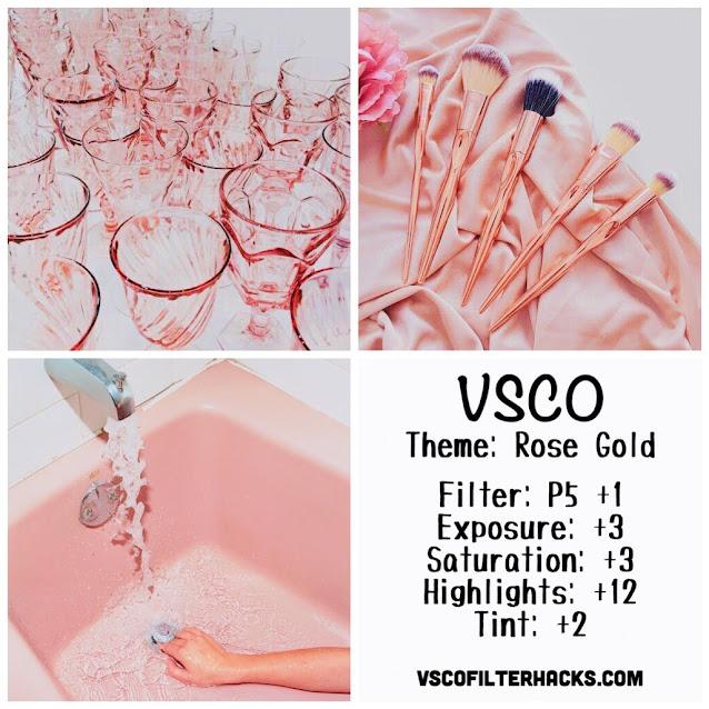 Rose Gold Instagram Feed Using VSCO Filter P5