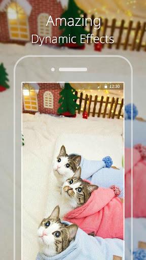無料个人化Appのかわいいねこライブ壁紙|HotApp4Game