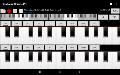 玩免費音樂APP 下載Keyboard Sounds Pro - Midi/USB app不用錢 硬是要APP