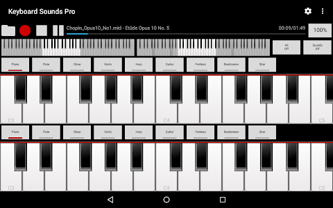 Keyboard Sounds Pro - MIDI/USB screenshot 4