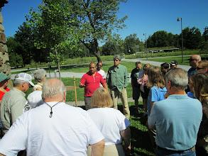 Photo: Educational Workshop - Soil Percolation Exercise 8/24/2013