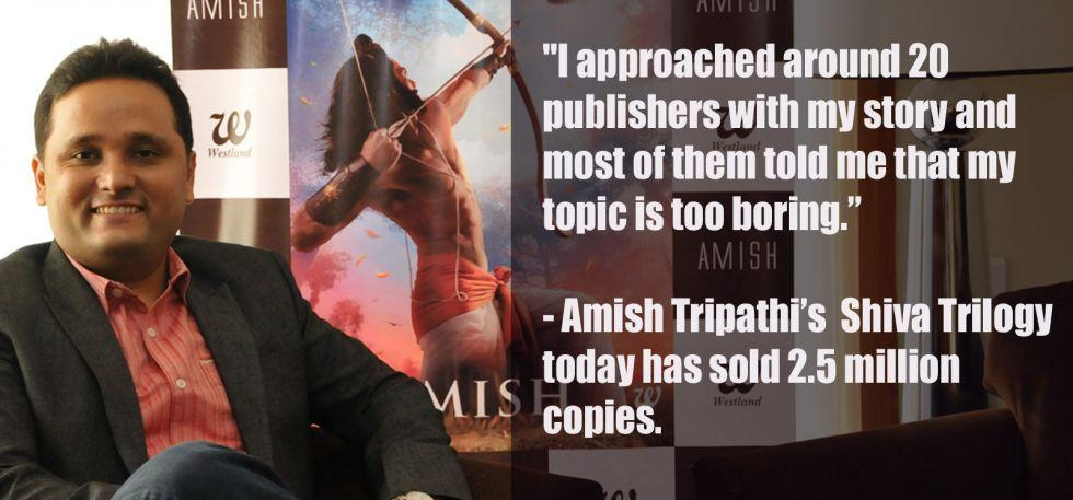Image result for amish tripathi self publishing