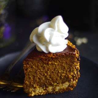 Baked Pumpkin Cheesecake (Dairy-Free)