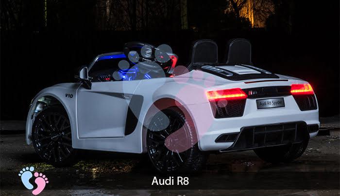 ô tô điện audi r8 cho bé
