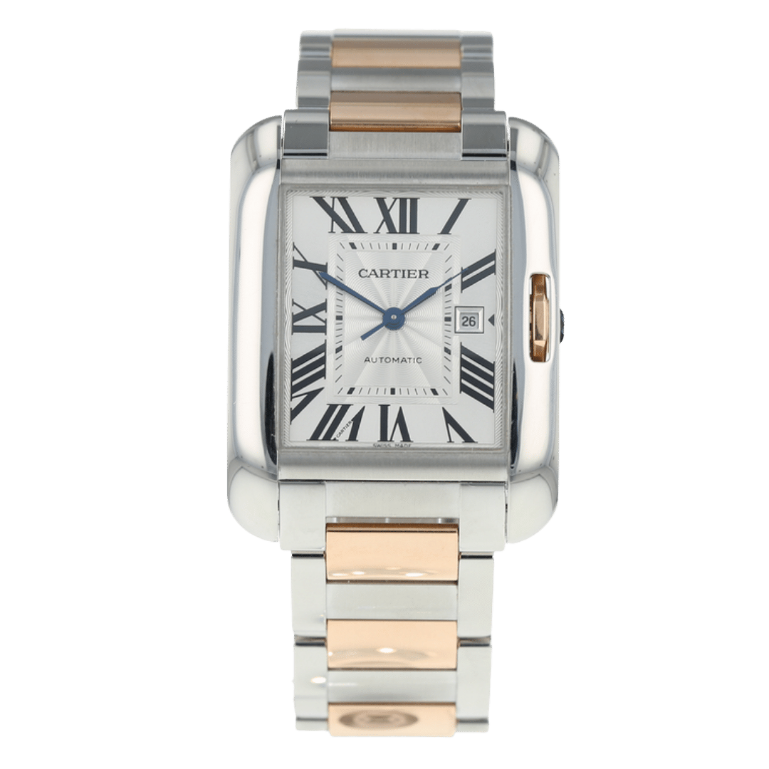 Photo of a Cartier Tank Anglaise watch