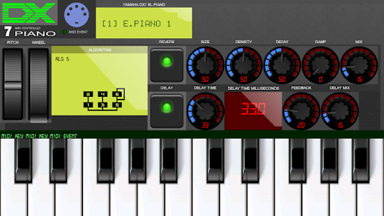 Synth DX7 Piano- screenshot thumbnail