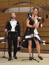Photo: MCs for the Cabaret - Brando and Nicki