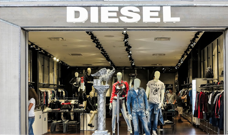 : View at Diesel shop in Denver, USA.