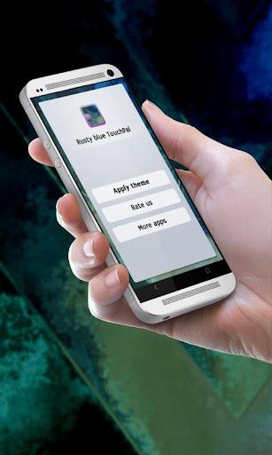 生鏽的藍色 TouchPal