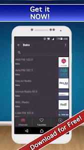 📻Radio Azərbaycan AM & FM screenshot 5