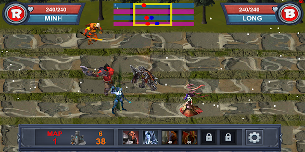 Hero War M screenshot 6