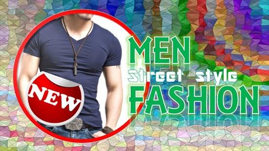 Men Fashion Street Style - náhled
