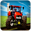 Real Farm Town Farming Simulator Tractor Game icon