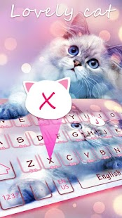 Lovely cat Keyboard - náhled