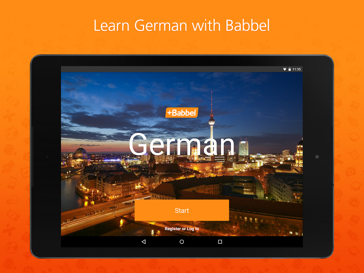 German customer account create/downloader - Learn German With Babbel Screenshot
