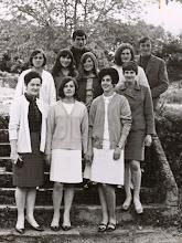 Photo: Jose, Pepito, Maribel, Mabel, Dori, Sara. Manolita, Pilarin, Marisa y Mari Carmen.