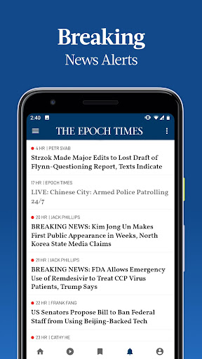 The Epoch Times: Live & Breaking News screenshot 3