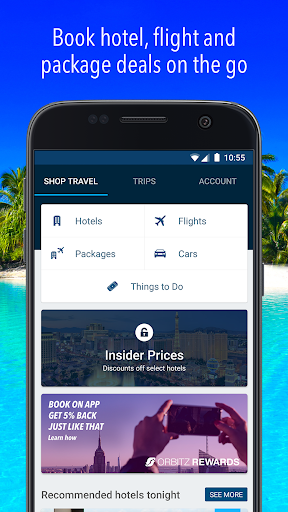 Orbitz - Hotels, Flights & Package Deals screenshot