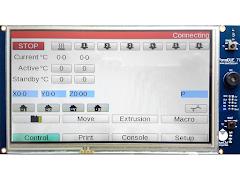 Duet3D PanelDue Touchscreen