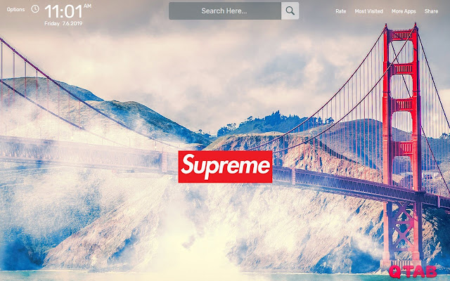 Supreme Wallpapers Hd Theme