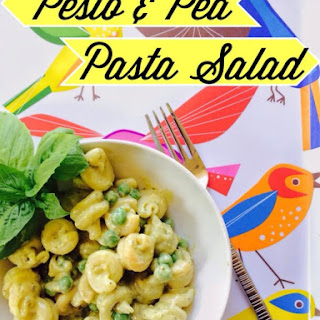 Pesto and Pea Pasta Salad.