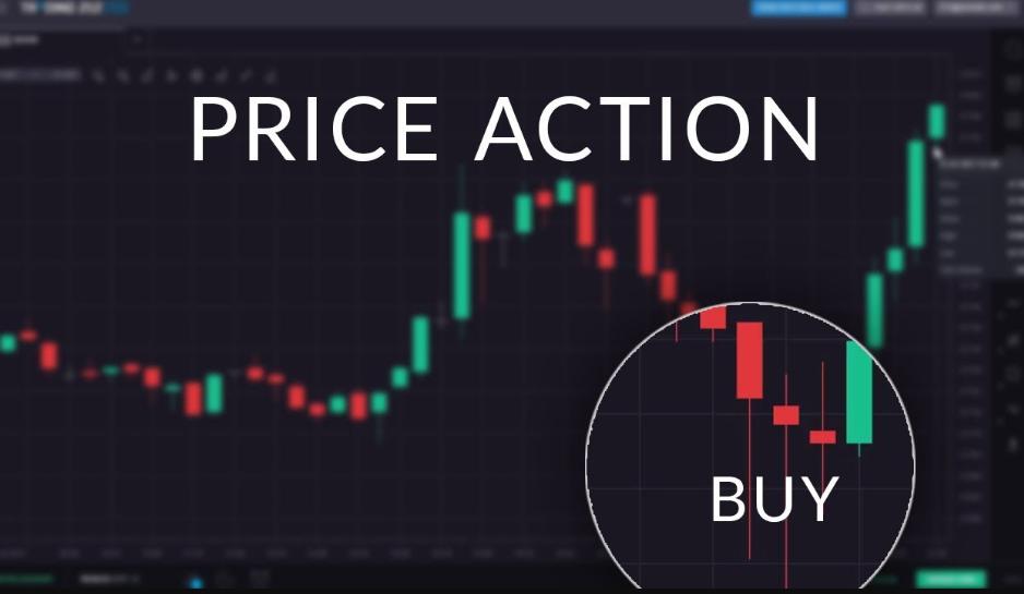 Dựa vào biểu đồ nến của biểu thị giá, chúng ta tập trung đưa ra quyết định mua/bán