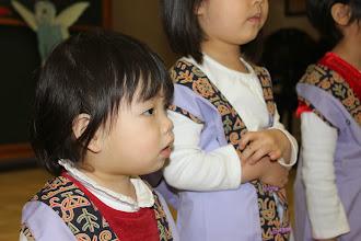 Photo: 小小班兒童讀經表演