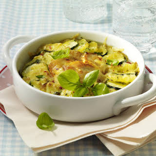 Chicken, Potato and Zucchini Bake.