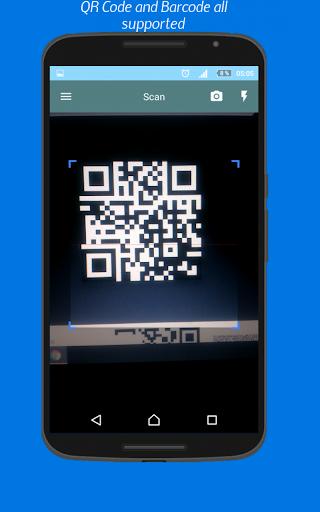 qr code scanner for android. Black Bedroom Furniture Sets. Home Design Ideas
