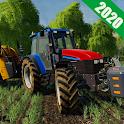 Heavy Farming Tractor Trolley Cargo Sim 2020 icon