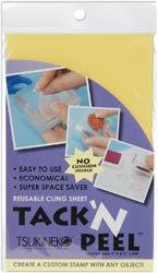 Tack n Peel Reusable Cling Sheet