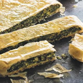 Chard And Wild Greens Pie