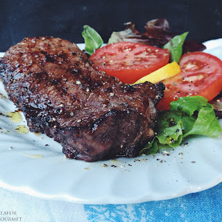 Grilled Orange Marmalade Marinated Steaks