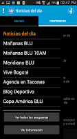 Screenshot of BLU Radio