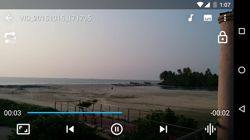 Video player with DSP