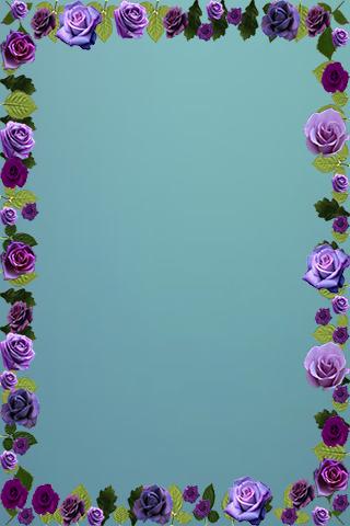 Romantic Rose Photo Frame