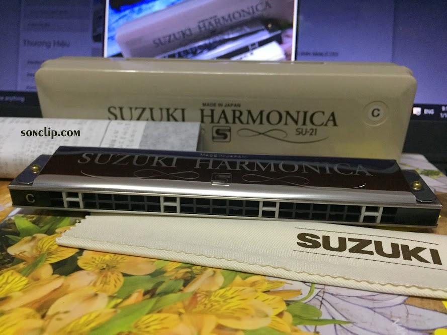 Kèn Harmonica - Suzuki Tremolo Special SU-21 (key C)