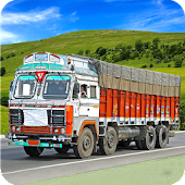 Indian Truck Driver Cargo New